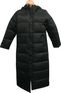 PRE-OWNED-Ladies-Jeff-Banks-Black-Full-Down-Outdoor-Winter-Coat-Size-14-SW315