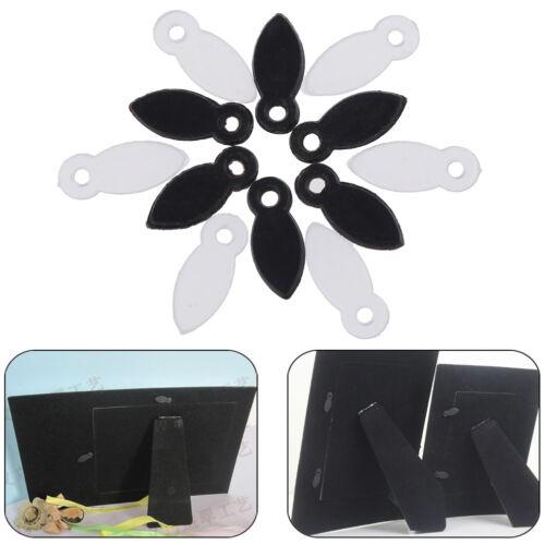 100Pcs lucia crafts  black//white photo frame hooks DIY rotating melon slice VQ