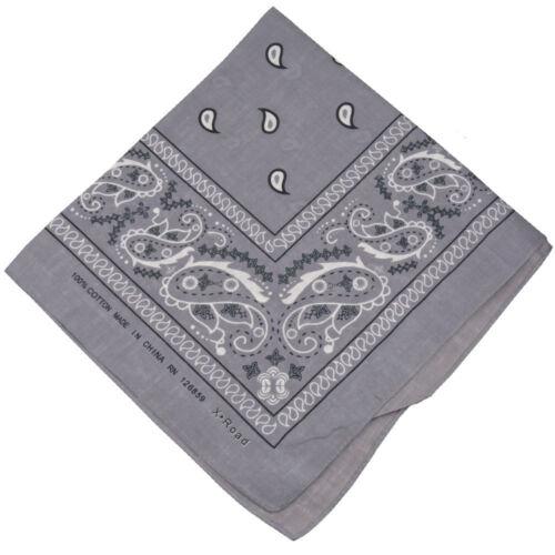 new PAISLEY BANDANNA Head Band Hair Tie Band Scarf Neck Wrist Wrap Wear Bandana