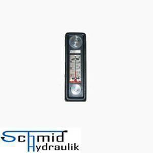 Füllstandsanzeige Ölschauglas Ölstandanzeige Themometer 76mm