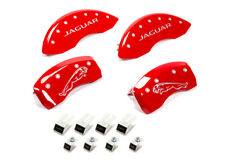 Mgp Caliper Cover 10 Jaguar Caliper Covers Red 41003sjalrd Fits Jaguar