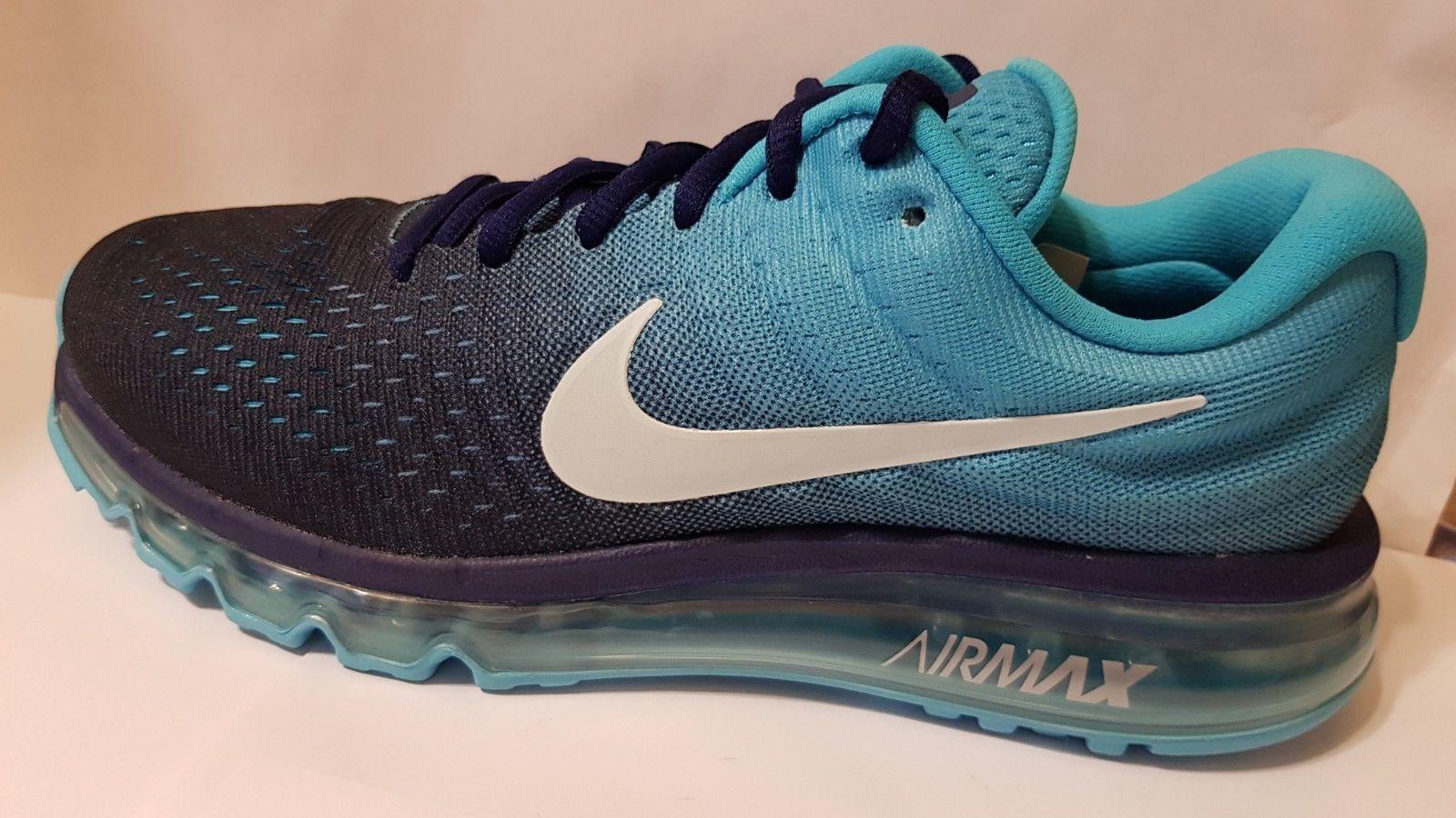 best service 74757 eba61 Nike Nike Nike Air Max 2017 Basse Course Athlétisme Chaussure Baskets  849559 404 Sz 8.5 b7d37e