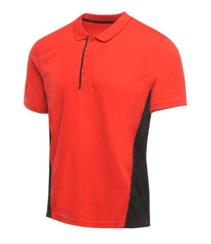 Anti-bacterial REGATTA ACTIVEWEAR SALT LAKE Piqué Polo Shirt Moisture Wicking