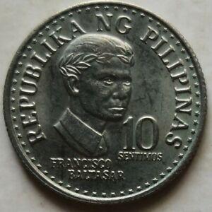 Philippines 1976 10 Sentimos coin