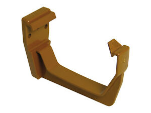 114mm Caramel Square Fascia Bracket