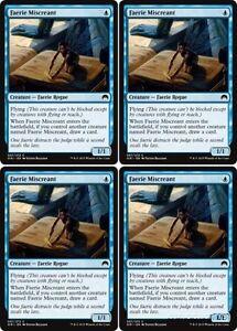 4 x FAERIE MISCREANT NM mtg Origins Blue Faerie Rogue
