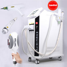 Professional IPL+RF+Yag Laser Hair Removal Tattoo Freckle Removal Q-Switch ND RF