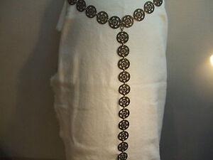 Cintura Catena Medioevo-veste y cintura metallo