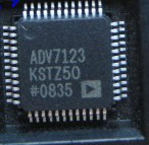 5PCS ADV7123KST50 ADV7123 CMOS,240 MHz Triple 10-Bit High Speed Video DAC QFP48