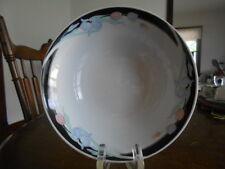 "Caravel Coupe Cereal Bowl (s) 6 1/4"" Porcelain Excel White Black Blue Pink Green"