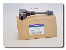 4 Kits Ignition Coil Fits: Fits: Nissan Altima Sentra 02-06 X-Trail 02-13 2.5L