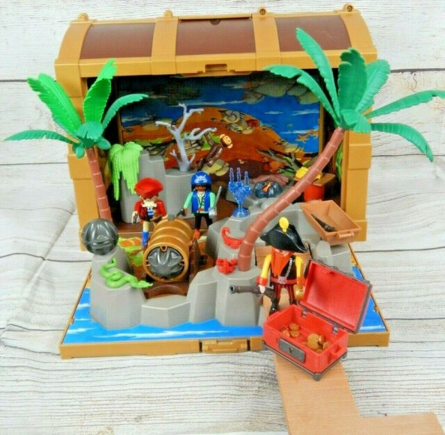 Playmobil Treasure Chest Brown Castle Pirates