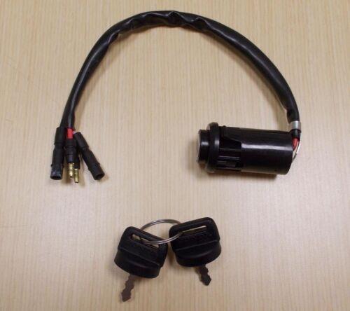New 1990-2000 Honda TRX 300 TRX300 TRX300FW ATV OE Ignition Switch With Keys