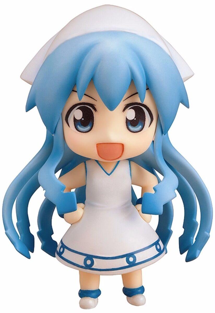 Nendoroid 237 Shinryaku  Ika Musume (Squid Girl) Ika Musume  cifra Phat  nuovo  elementi di novità