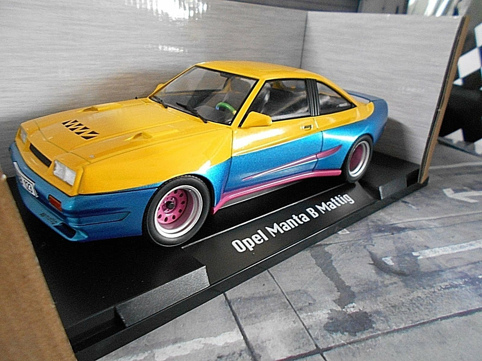 Opel Manta B 400 400 400 Mattig breitbau tuning TV Cine Movie Manni 1991 microg 1 18 8fed3d