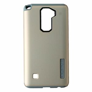 super popular 07eb3 d78b7 Details about Incipio DualPro Series Dual Layer Case for LG Stylo 2 - Gold  / Light Gray