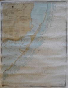 Lot-de-3-Cartes-Marines-USA-Floride-Set-of-3-nautical-charts-United-States-FL