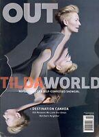 Out Magazine November 2016 Tilda Swinton / The Travel Issue