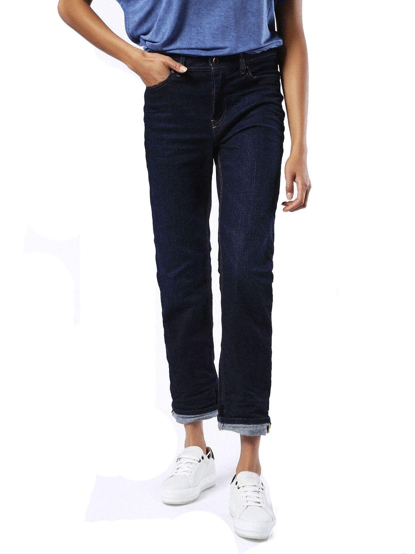 Diesel Reen 0860Z Elasticizzato Jeans Pantaloni women Regolare Dritto