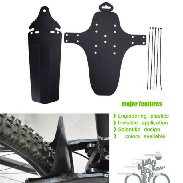 1 Set Cycling Mountain Bicycle Bike Front + Rear Fenders Mud Guards MTB Mudguard