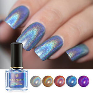 6ml-BORN-PRETTY-Holographic-Nail-Polish-Flourish-Series-Laser-Glitter-Varnish