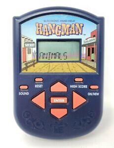 VINTAGE-Hangman-Electronic-Handheld-Game-1995-Milton-Bradley