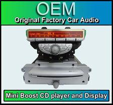 BMW Mini Cooper D Boost CD MP3 car stereo radio with display Mini R56