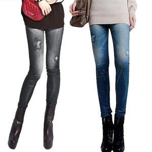Women-Winter-Jeans-Skinny-Stretchy-Jeggings-Slim-Leggings-Pencil-Sexy-Pants