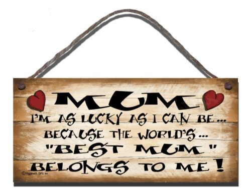 SHABBY CHIC FUNNY WOODEN SIGN MUM  GIFT PRESENT 44