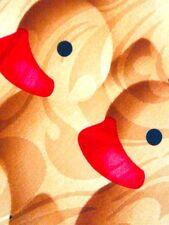 NEW CUTE RUBBER DUCKIES DUCKIE DUCK ANIMAL BIRD NECKTIE NECK TIE STEVEN HARRIS