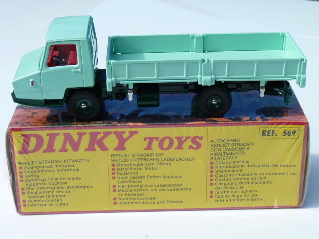 Berliet Stradair Tipper - Side Ref 569 choose 1 43 Dinky Toys