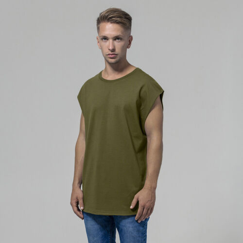 Build Your Brand Sleeveless Tee BY049