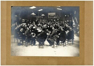 """Music History JAZZ BAND BUDDY BOLDEN PHOTO 16/""""x11/"""" 1905 RAG TIME NEW ORLEANS"""