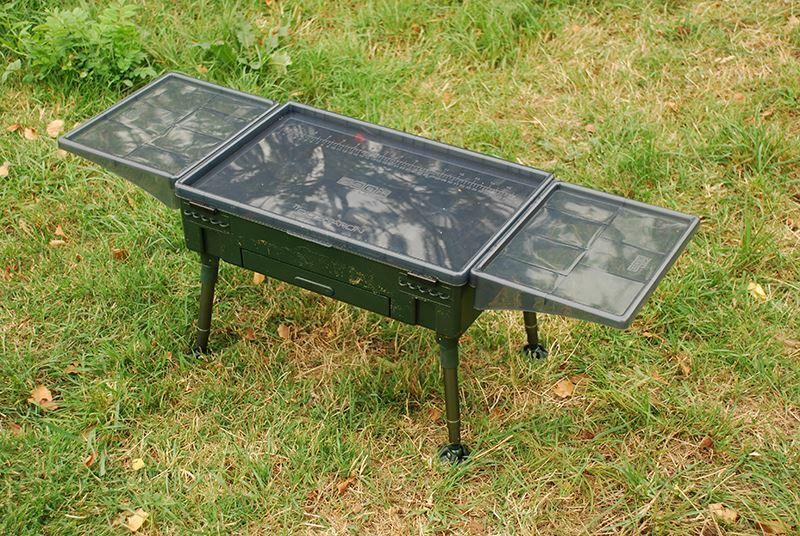 Nash Rigg Station Side Tables (Paar) Karpfenangeln
