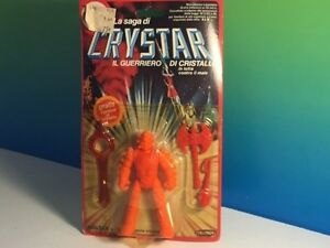 Figurine d'action Vintage 1982 Remco Crystar Moc Crystal Warrior Moltar Forces Chaos