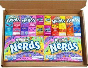 Amerikanischer Nerds Sussigkeiten Auswahlfeld Retro Sussigkeiten Box Rainbow Nerds Sussigkeiten Ebay