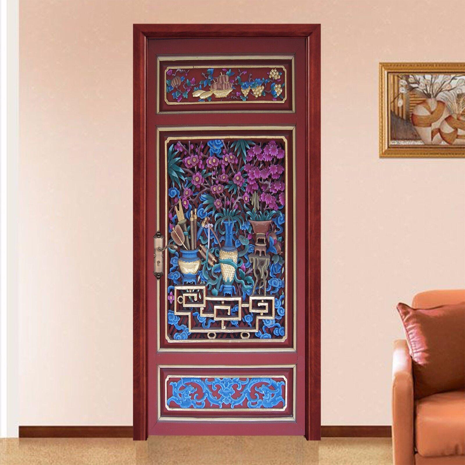 3D Graffiti 720 Tür Wandmalerei Wandaufkleber Aufkleber AJ WALLPAPER DE Kyra