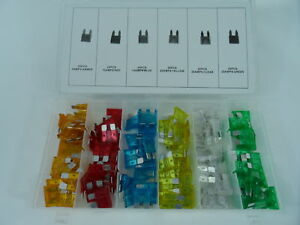 New-120pc-Blade-Fuse-Assortment-Auto-Car-Truck-Motorcycle-FUSES-Kit-ATC-ATO-ATM