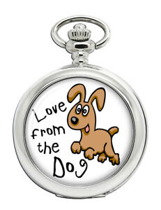 Love-from-the-dog-Pocket-Watch