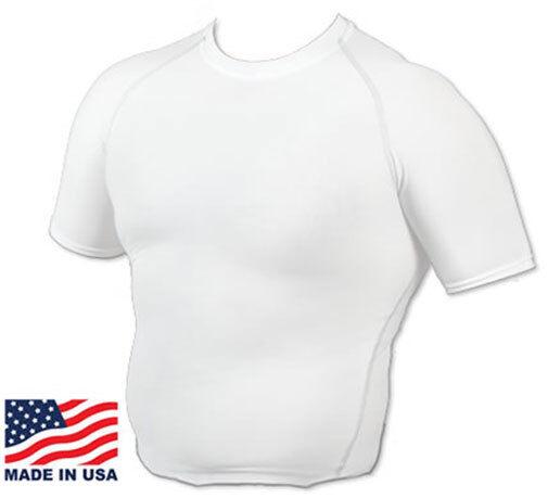 Gynecomastia Shirt - Man Boob Shirt- Compression Slimming Shirt Made in the USA