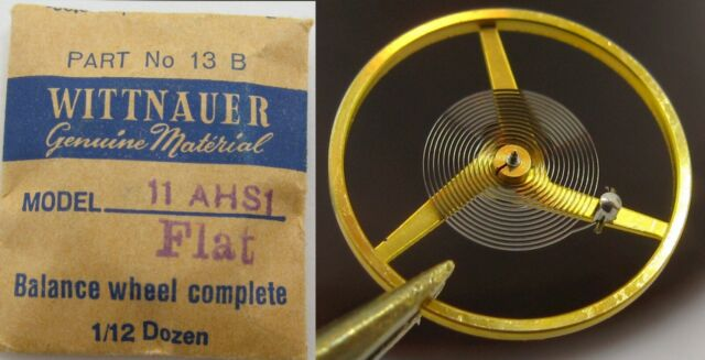 Balance Wheel complete for wristwatches ref 721 NOS !
