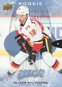2016-17-Upper-Deck-MVP-Hockey-293-Oliver-Kylington-RC-SP-Calgary-Flames