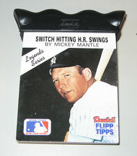 Mickey Mantle Flip Card on How to Swing a Bat