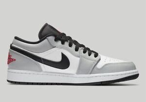 Details about Air Jordan 1 Low Light Smoke Grey 553558-030 NEW Size 9 Men  ORDER CONFIRMED
