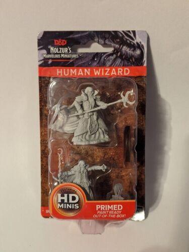 Nolzur/'s Marvelous Miniatures D/&D WizKids Unpainted Male Human Wizard 2