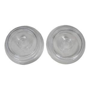 EEKO 2pcs Soft Silicone Replacement Sleeve Seal Stretchable Donut for Most P`/ên/ís Enl/árg/èr P-/ùmp Vacuum Comfort Cylinder Accessories