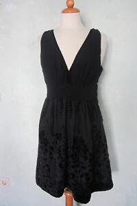 H&M Conscious Collection Kleid Party A-Linie schwarz ...