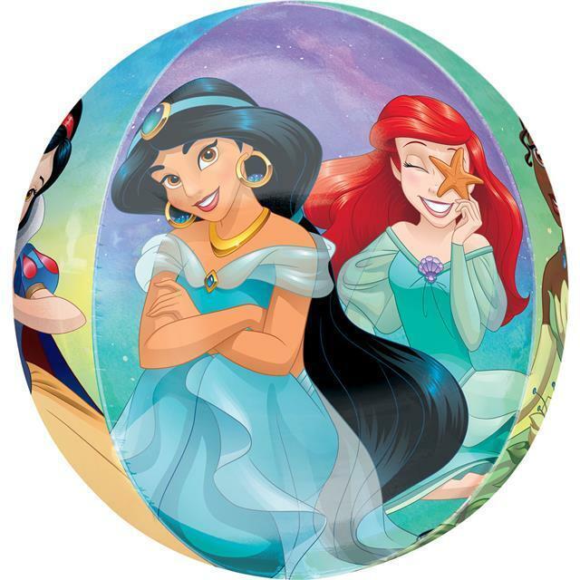 Disney Princess Once Upon A Zeit Groß Orbz Folien Ballon