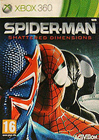 Spider-Man: Shattered Dimensions Game *With manual* Xbox 360