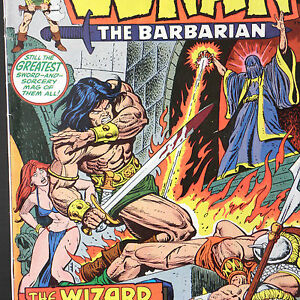 CONAN-The-BARBARIAN-29-Aug-1973-MARVEL-Buscema-Thomas-Two-Against-Tyre-REH